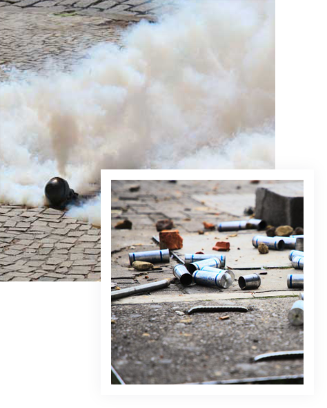 Tear Gas Cleanup